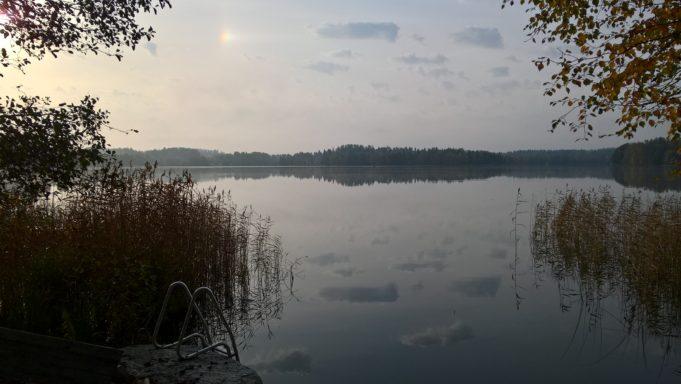 Maisema Tottijärvellä