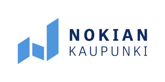 Nokian kaupungin tunnus.