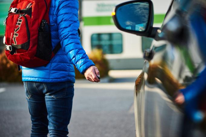 Joukkoliikenteen asiakas voi jättää autonsa parkkiin Nokian rautatieasemalle ja jatkaa matkaansa junalla tai bussilla eteenpäin.