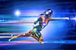 Virtuaalinen supersankari tyttö
