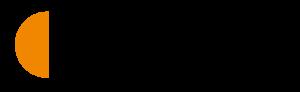 Työllisyyden kuntakokeilut-logo, jossa on tekstin vasemmalla puolella oranssinen puoliympyrä, jonka jälkeen tekstauksella kirjoitettu työllisyyden kuntakokeilut