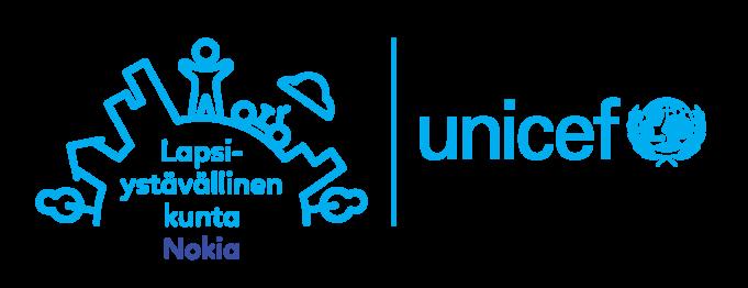 UNICEFin Nokian kaupungille myöntämä tunnustus lapsiystävällinen kunta työstä.